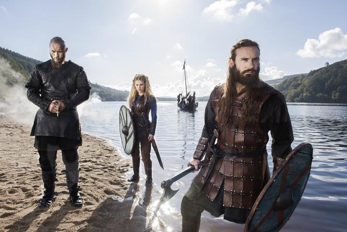 """Paris, wir kommen! Free-TV-Premiere der dritten Staffel """"Vikings"""" ab 21. Juni 2017 auf ProSieben MAXX"""