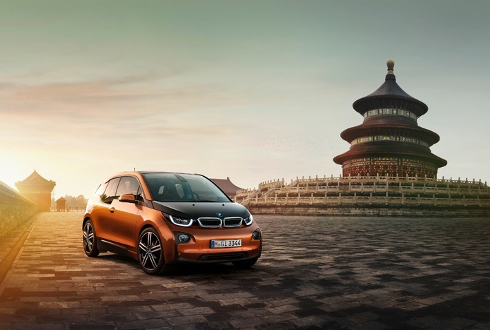 BMW auf der 13. Beijing International Automotive Exhibition 2014