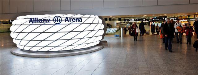 Die Allianz Arena steht jetzt in Zürich