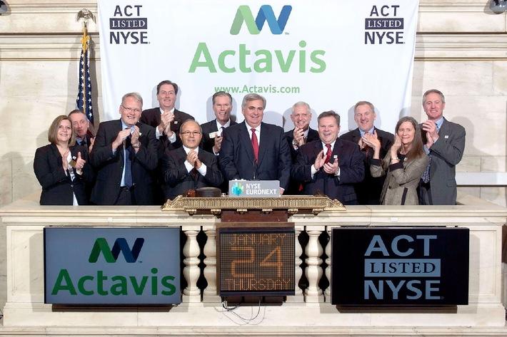 Watson Pharmaceuticals, Inc. heisst ab sofort Actavis, Inc.