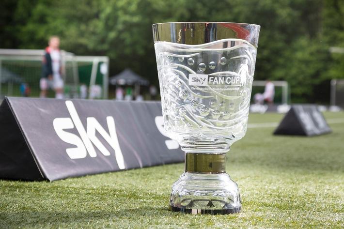 Sky sucht den deutschen Fan-Meister 2016: der Sky Fan Cup am 28. Mai in Essen