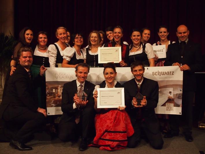 Alpenresort Schwarz gewinnt European Excellence Award 2013 - BILD