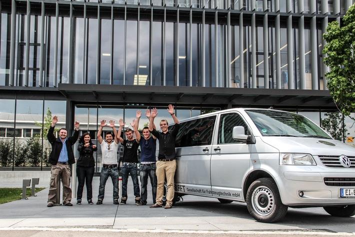 """Dreifacherfolg im Jubiläumsjahr: BFFT zum dritten Mal in Folge """"Top Arbeitgeber"""" / Der Ingolstädter Fahrzeugtechnikentwickler wird heute Abend als """"Top Arbeitgeber Automotive 2016"""" ausgezeichnet."""