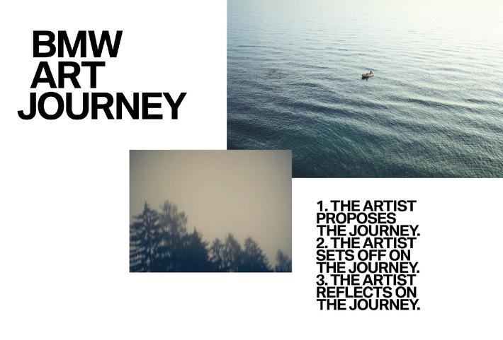 BMW und Art Basel geben weltweite Kunstinitiative bekannt: Die BMW Art Journey schickt Künstler auf Entdeckungsreise
