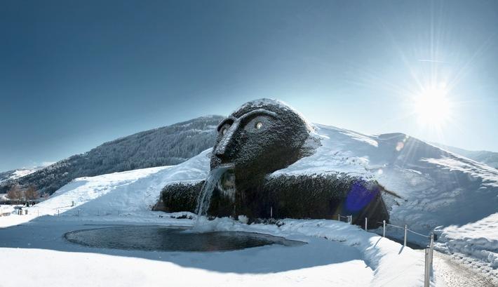 Zauberhafte Wintermomente in den Swarovski Kristallwelten - BILD