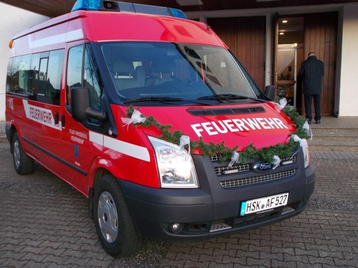 FW-AR: Neuer ELW 1 für den Löschzug Neheim
