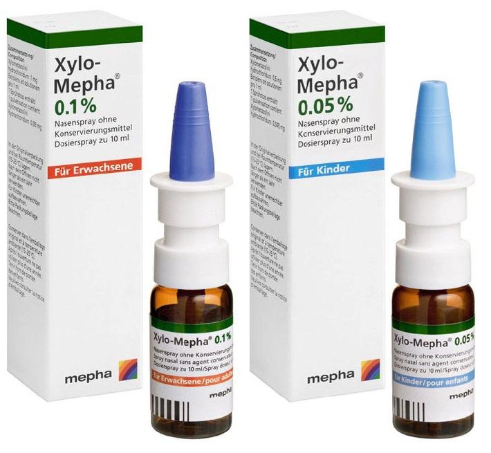 Xylo-Mepha - der Nasenspray ohne Konservierungsmittel