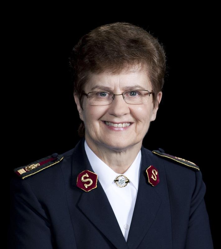Die Heilsarmee erwartet ihre internationale Leiterin: Generalin Linda Bond besucht die Schweiz (BILD)