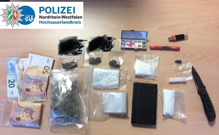 KPB HSK - Drogenfund in Schmallenberg