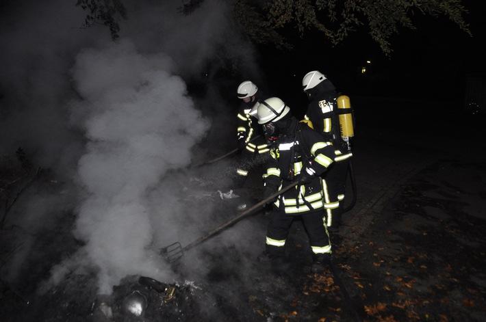 FW-KLE: Brände in Bedburg-Hau