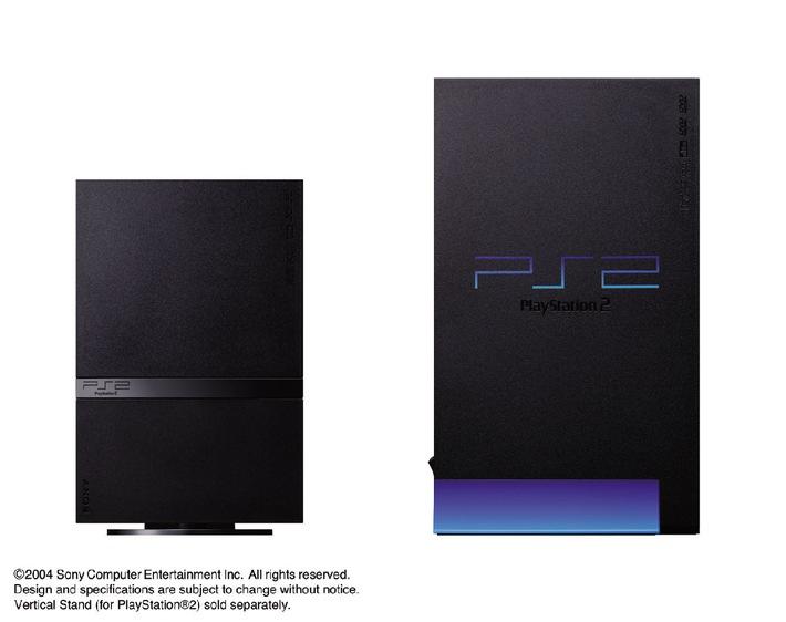 PlayStation®2 erhält ein neues Design: kleiner, schlanker und netzwerkbereit