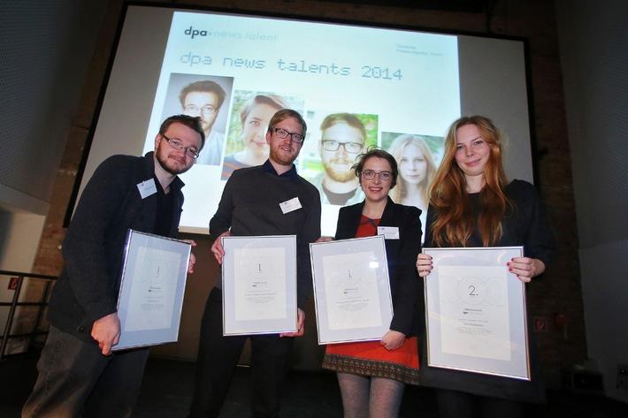 Multimediaprojekte und klassische Reportage: dpa news talents 2014 ausgezeichnet