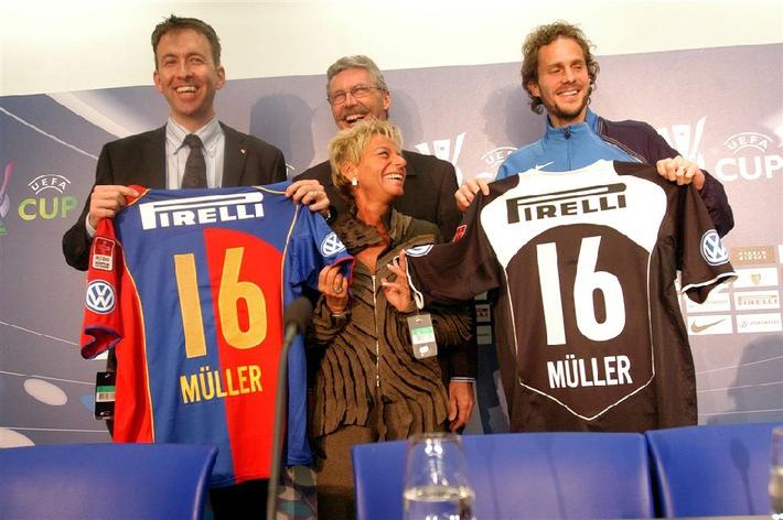 Deux partenaires de taille - Pirelli et FC Basel
