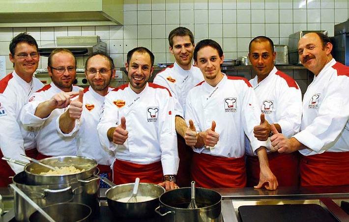 Der Schweizer Kochverband präsentiert die neue Kochnationalmannschaft