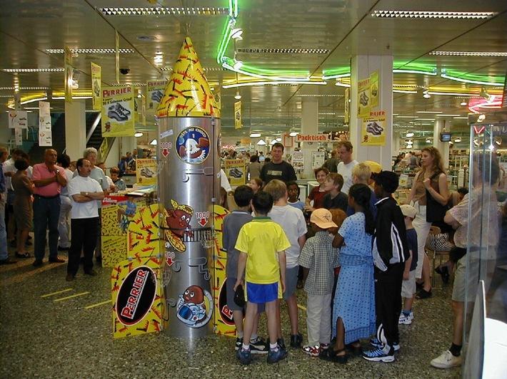 Les Têtes au Choco Perrier remportent le 1er prix du Swiss Marketing Trophy