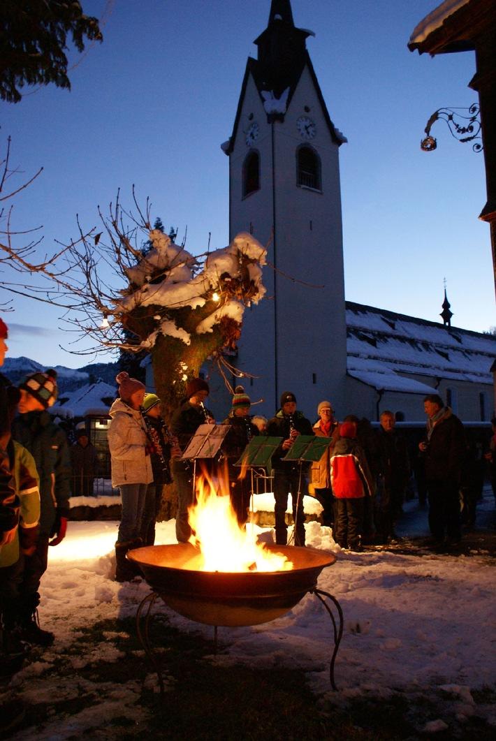 Verlockender Winterauftakt im Bregenzerwald - BILD