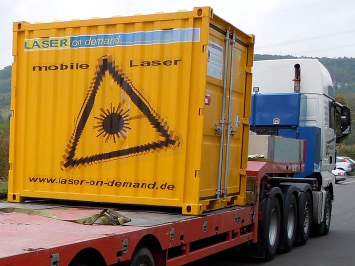Strahlen gegen Strahlung - mit Lasern aus Hannover