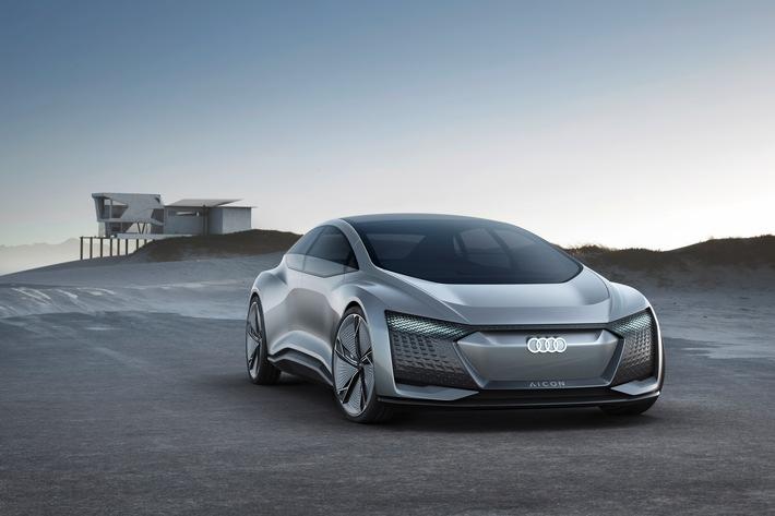 Concept Car Audi Aicon - autonom auf Zukunftskurs