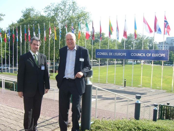 L'Ecole Privée Vaudoise à l'honneur au conseil de l'Europe