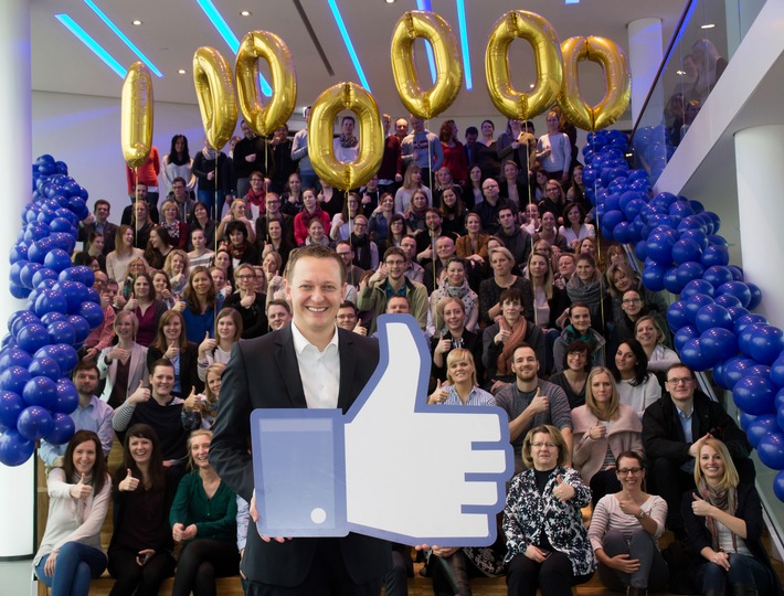 AIDA sagt Danke an eine Million Facebook-Fans