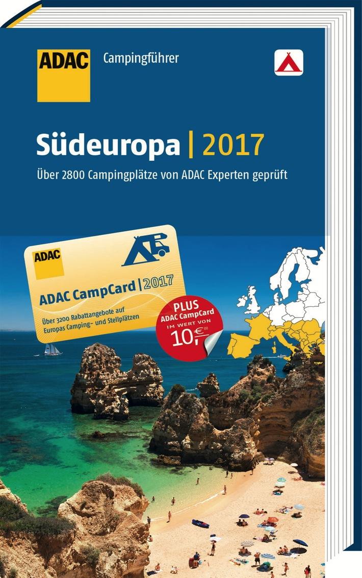 ADAC Campingführer 2017 bewertet 5.500 Plätze / 37 Länder in ganz Europa / Das Standardwerk in der 67. Auflage