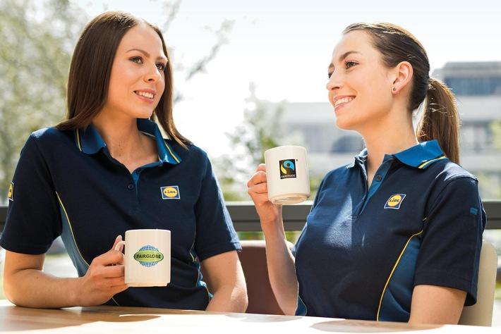 World Fairtrade Challenge: Lidl lädt seine 70.000 Mitarbeiter zur fairen Kaffeepause ein / Am 13. Mai stellt Lidl seinen Mitarbeitern kostenlos Fairtrade-zertifizierten Kaffee zur Verfügung