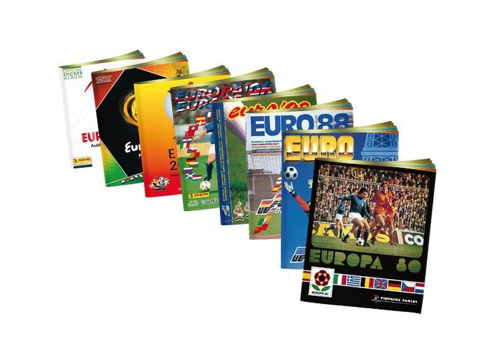 Les vignettes Panini ont 50 ans: mise en vente des rééditions des Championnats d'Europe de football de l'UEFA