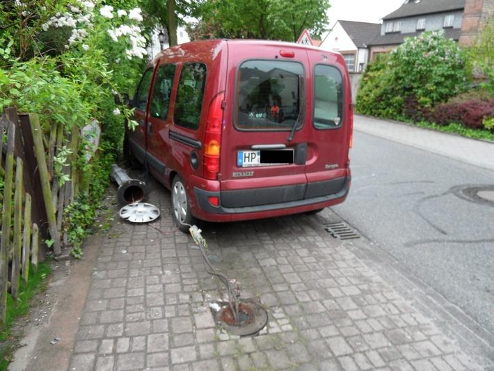 PPSH-HP: Zeugen nach Verkehrsunfall gesuchht