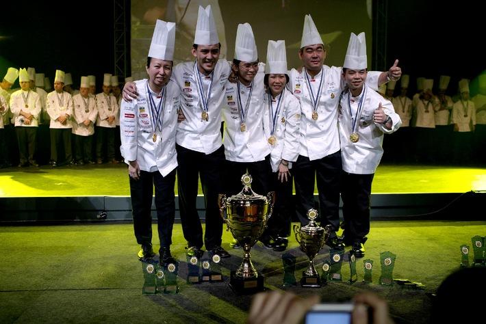 Grand succès pour Igeho 05 qui s'achève sur la victoire de Singapour au «Culinary World Masters»