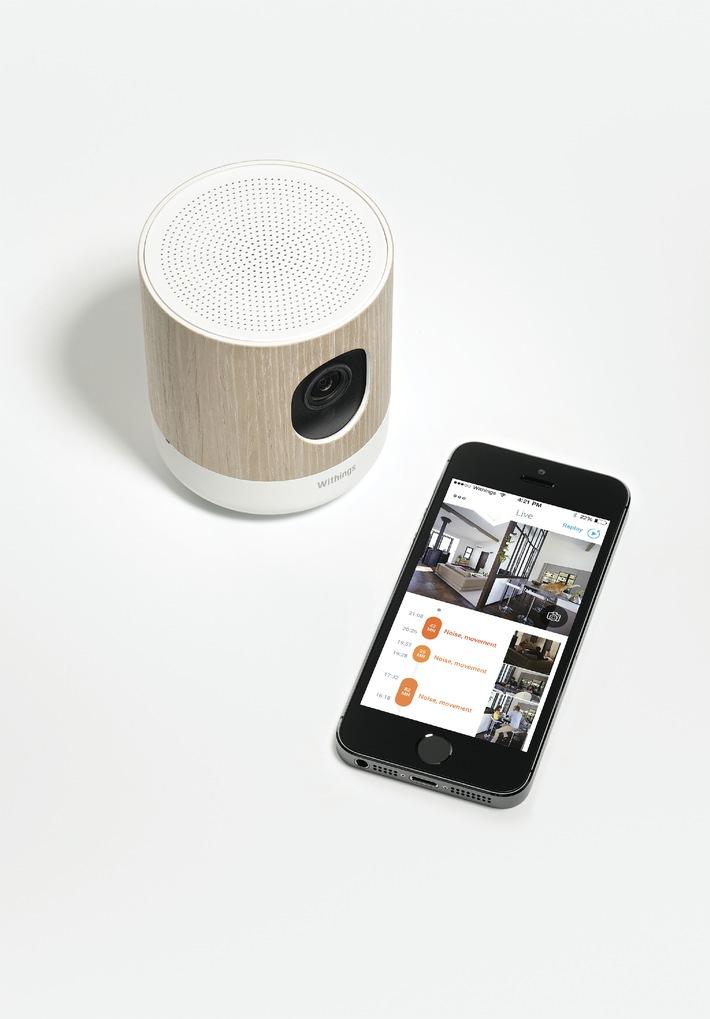 Withings launcht Home - eine hochintelligente Kamera mit Umgebungssensoren