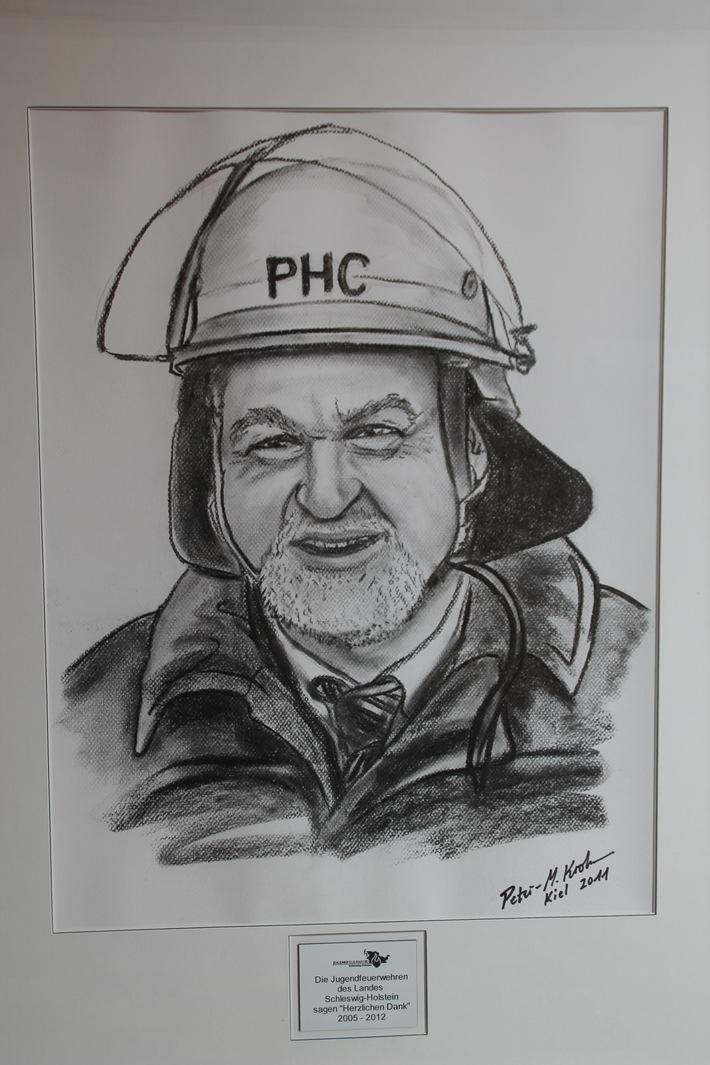 FW-LFVSH: Peter Harry Carstensen in Kohle verewigt