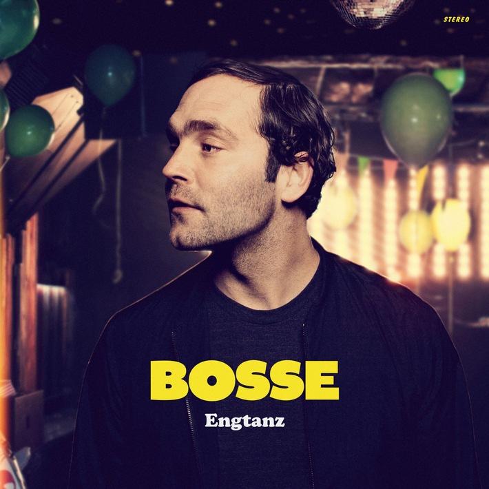 """BOSSE - Das sechste Album ENGTANZ erscheint am 12. Februar, zur Einstimmung gibt es das Video zur Single """"Steine"""""""