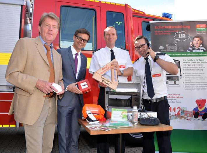 Neues Instrument für die Brandschutzerziehung: Brandschutzkoffer unterstützt Arbeit der Feuerwehren