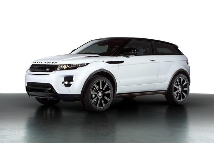 """Bestseller Range Rover Evoque kommt mit schickem """"Black Design""""-Paket nach Genf (Bild)"""