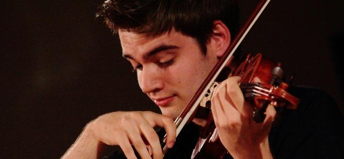 Oberstdorfer Musiksommer: Stipendiat der SINFONIMA-Stiftung nimmt an Meisterkurs teil