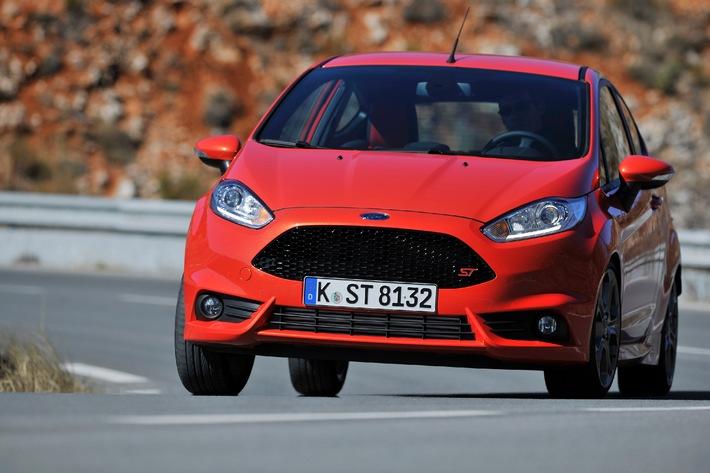 Ford Fiesta ST: Erst ein Jahr auf dem Markt, weltweit schon 22 Preise und Auszeichnungen gewonnen