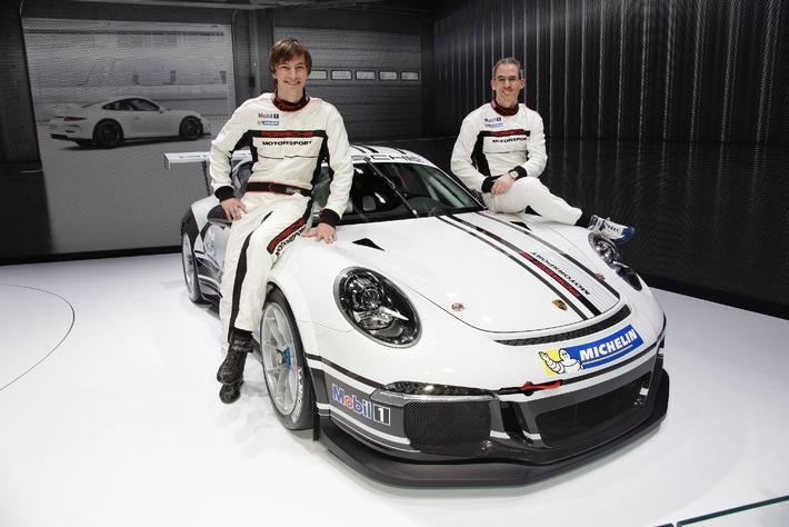 Team Fach Auto Tech startet 2013 mit Alain Menu und Christian Engelhart / Einstieg in den Porsche Mobil 1 Supercup (BILD)