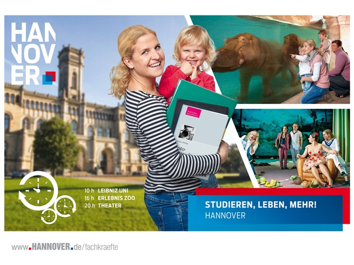 """""""Rundum-Paket"""" um den Job und Work-Life-Balance: Neue Kampagne für Fachkräfte als Standort zum Arbeiten und Leben gestartet"""