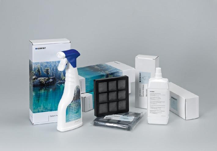 Geberit AquaClean Swiss Package: Das neue Rundum-Sorglos-Paket für Geberit AquaClean 8000plus