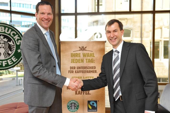 Starbucks serviert zukünftig ausschliesslich 100% Fairtrade zertifizierte Espressogetränke