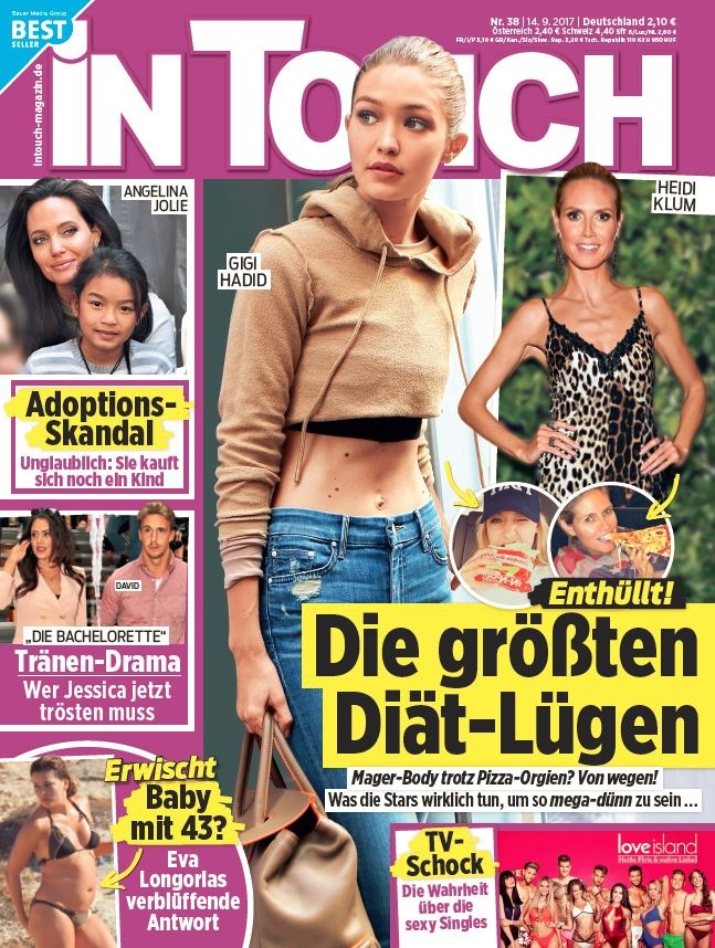 사라 롬바르디 (24) exklusiv in InTouch: Single - und happy