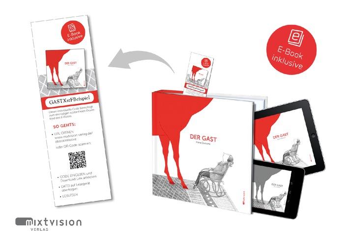 """Der Münchner Verlag mixtvision stattet als erster Kinder- und Jugendbuchverlag ab jetzt jede Neuerscheinung mit """"E-Book inklusive"""" aus"""