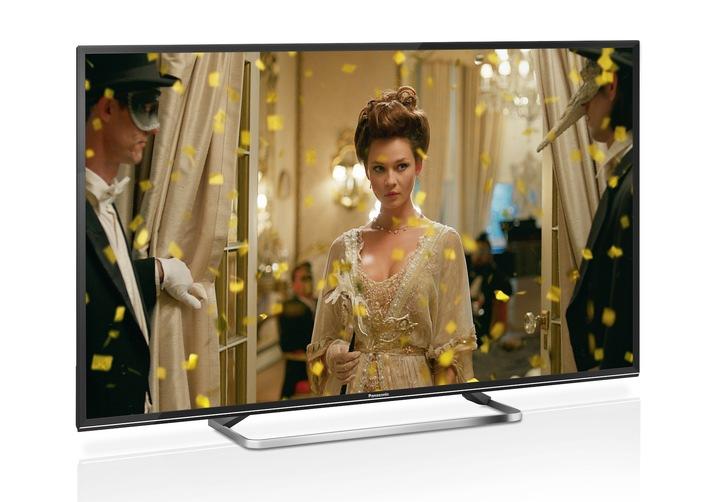 Stilvolles Heimkino-Erlebnis mit der Panasonic ESW504-Serie / Smart LED-TVs in jeder Größe mit flexiblem und zukunftssicherem TV-Empfang, USB-Aufnahmefunktion, Internet-Apps und Webbrowser