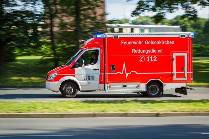 FW-GE: Folgenschwerer Verkehrsunfall auf der Feldhauser Straße