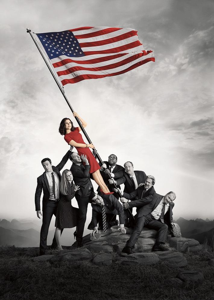 """Sky präsentiert im Juni neue Staffeln der HBO-Comedys """"Veep - Die Vizepräsidentin"""" und """"Silicon Valley"""""""