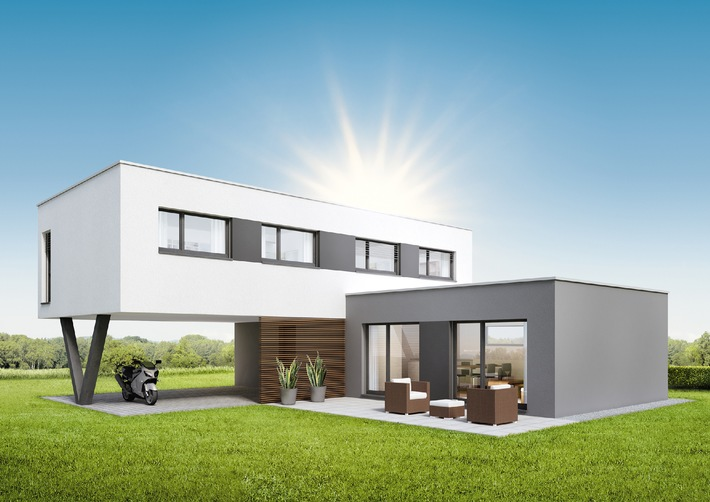 Concept visionnaire: NEO de SWISSHAUS / NEO - le concept visionnaire: SWISSHAUS construit des maisons individuelles pour les couples privilégiant le lifestyle