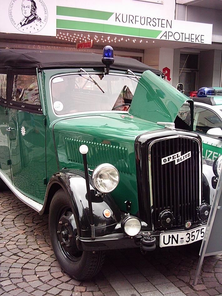 POL-REK: Polizei auf dem 8. Brühler Ausbildungsmarkt