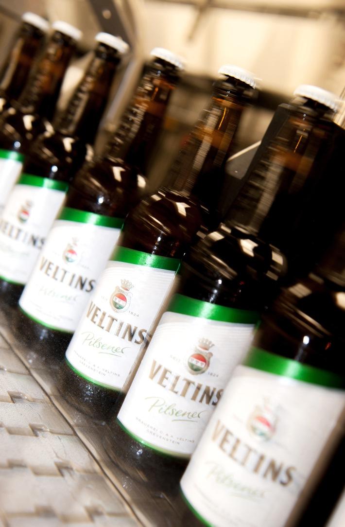 Ausstoßzuwachs gibt Brauerei C. & A. Veltins erfreulichen Rückenwind