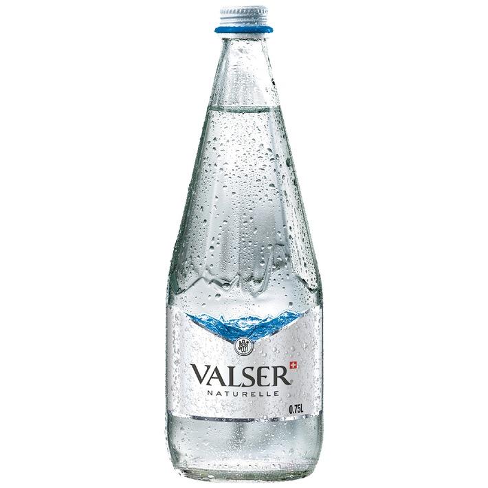 Valser présente sa nouvelle étiquette à l'occasion du St. Moritz Gourmet Festival