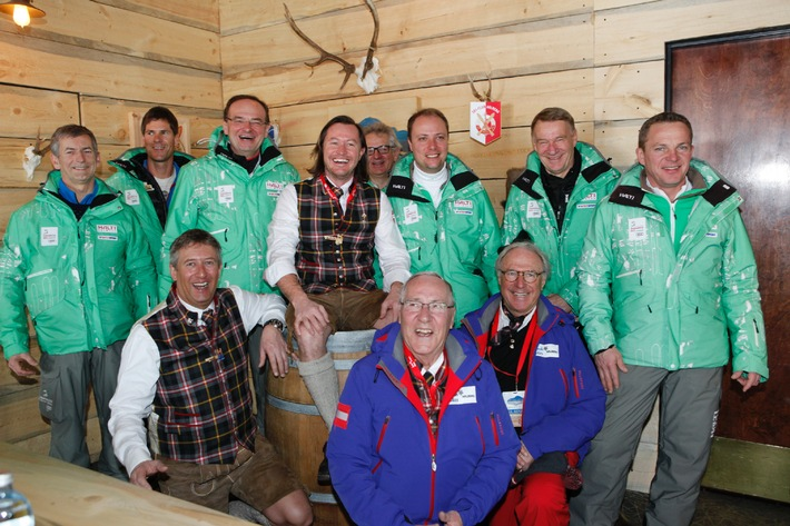 Hochstimmung in der Arlberg Lounge - BILD/VIDEO